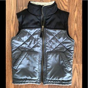 Children's Place Grey/Black Toddler 4T boys vest